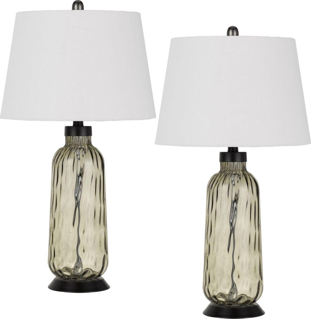 Bethwood Clear Lamp, Set of 2
