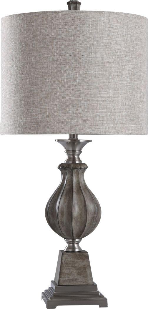 Beverston Gray Lamp