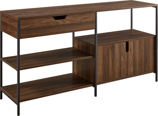 Beverwil Walnut 58 in. Console