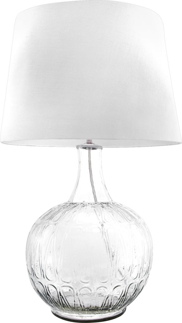 Bevwood Clear Lamp