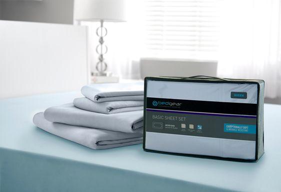 BG Basic Moss 3 Pc Twin Bed Sheet Set