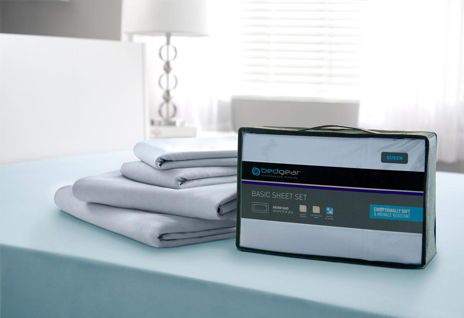 BG Basic Moss 3 Pc Twin XL Bed Sheet Set