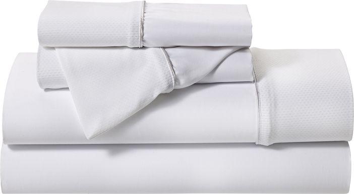 BG Basic White 3 Pc Twin Bed Sheet Set
