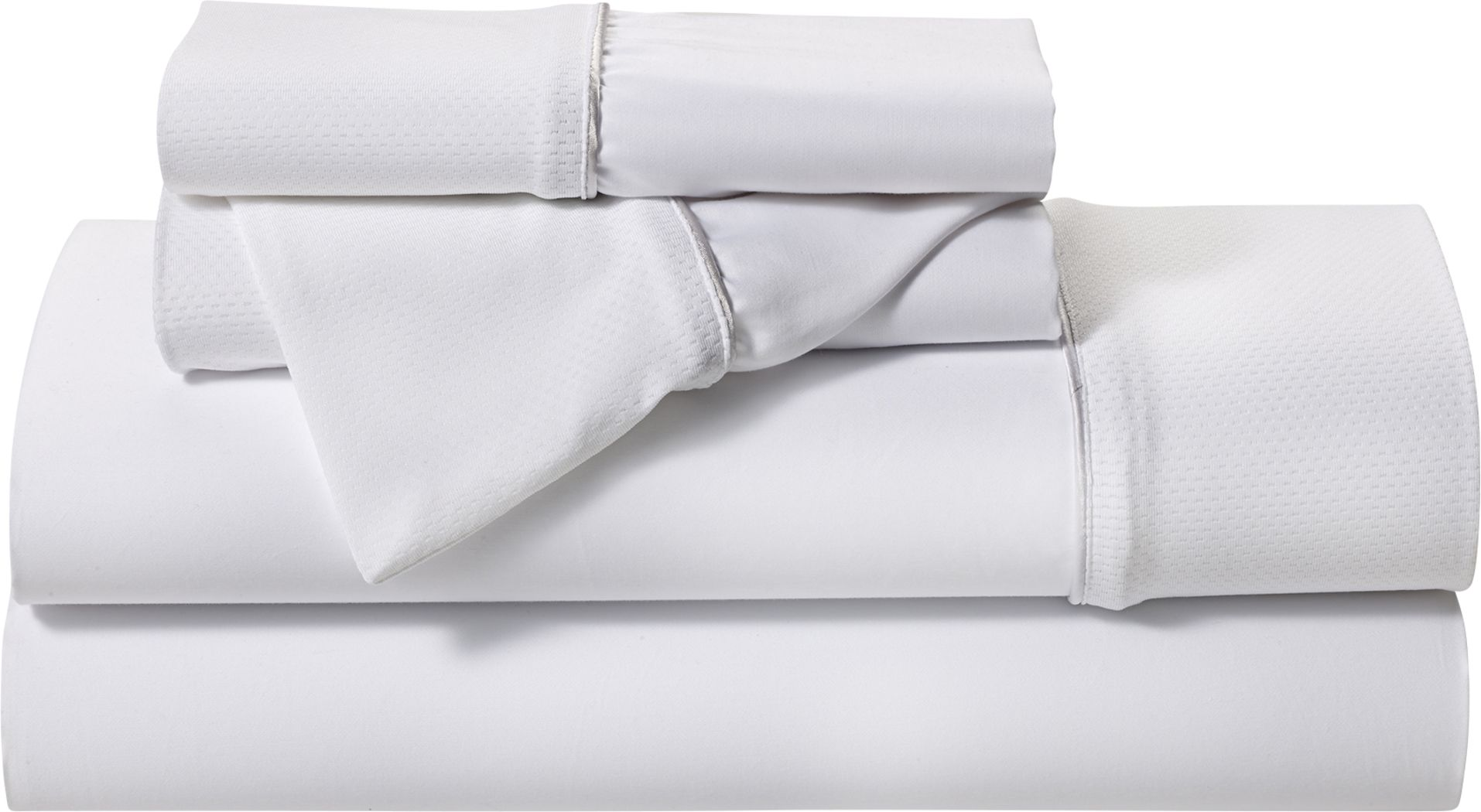 BG Basic White 3 Pc Twin XL Bed Sheet Set