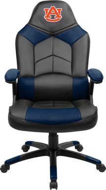Big Team NCAA Auburn University Navy Oversized Gaming Chair