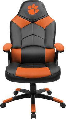 Big Team NCAA Clemson University Orange Oversized Gaming Chair