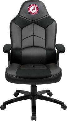 Big Team NCAA University of Alabama Black Oversized Gaming Chair