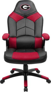 Big Team NCAA University of Georgia Red Oversized Gaming Chair
