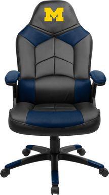 Big Team NCAA University of Michigan Navy Oversized Gaming Chair