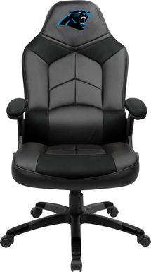 Big Team NFL Carolina Panthers Black Oversized Gaming Chair