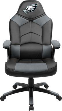 Big Team NFL Philadelphia Eagles Gray Oversized Gaming Chair