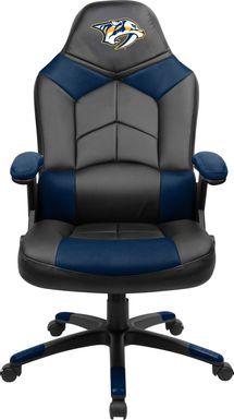 Big Team NHL Nashville Predators Navy Oversized Gaming Chair