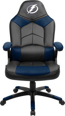 Big Team NHL Tampa Bay Lightning Navy Oversized Gaming Chair