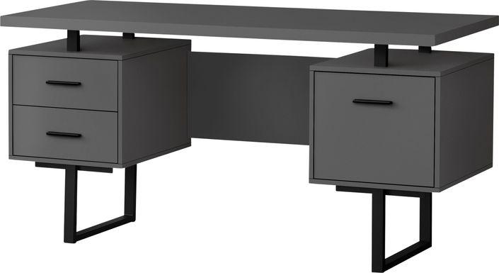 Billingsly Gray Desk