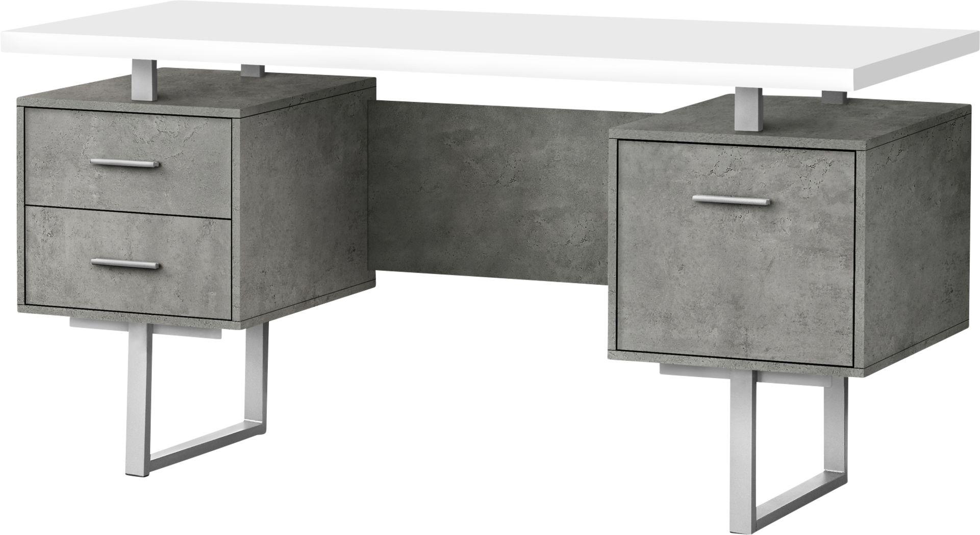 Billingsly Silver Desk