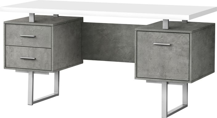 Billingsly Silver Desk