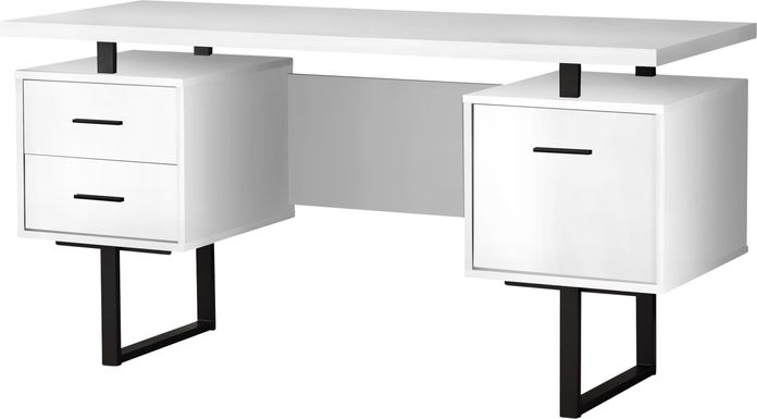 Billingsly White Desk