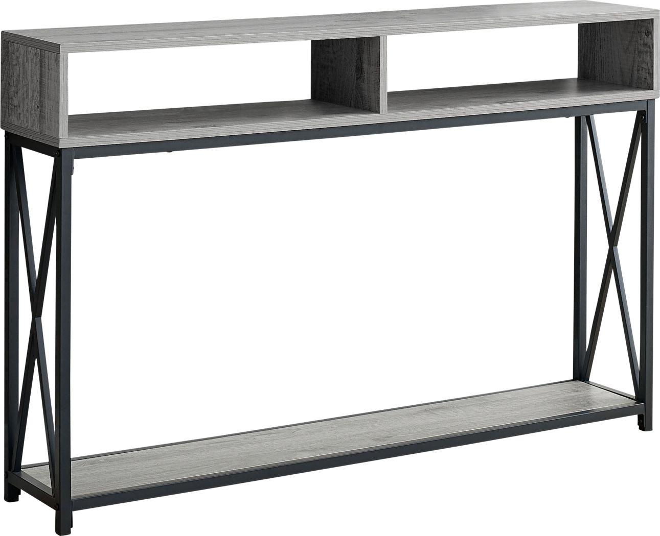Binghampton Gray Console Table