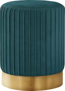 Binnicker Turquoise Ottoman