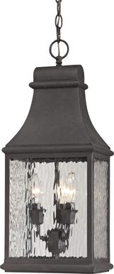 Birchley Gray Outdoor Chandelier