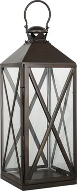 Birstall Bronze Large Indoor/Outdoor Lantern