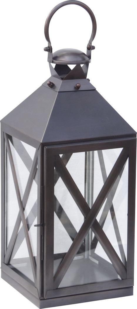 Birstall Bronze Medium Indoor/Outdoor Lantern