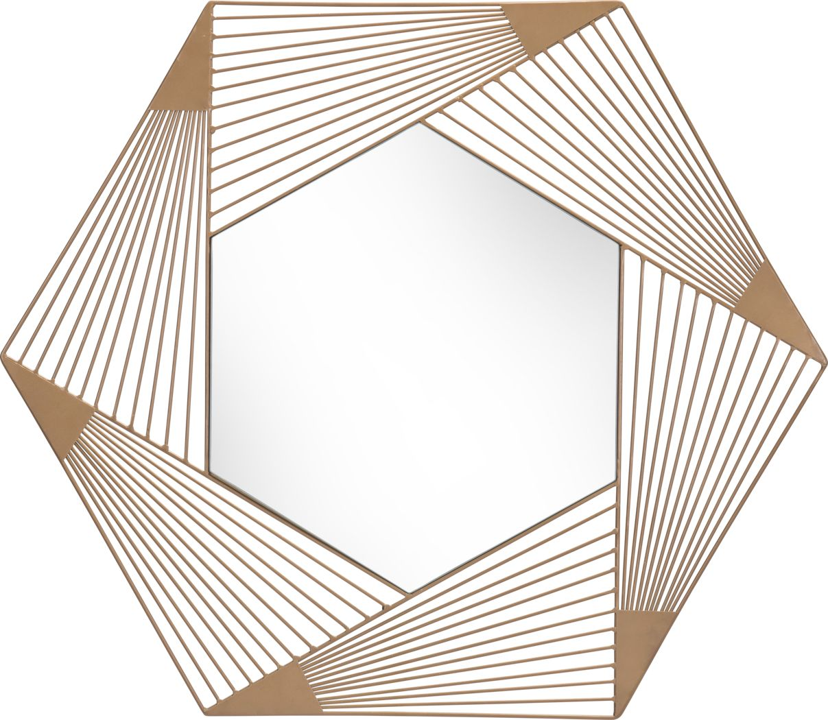Biryan Gold Mirror