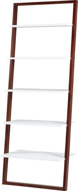 Bivona White Bookcase