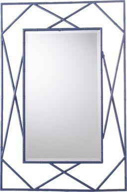 Blackwillow Blue Mirror