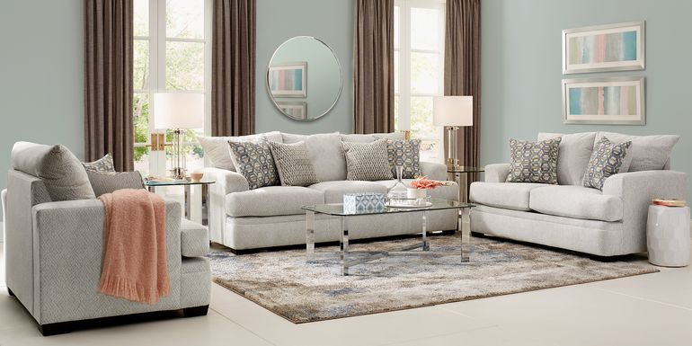 Blair Park Beige 8 Pc Living Room