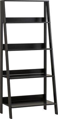 Blairwood Black Bookcase