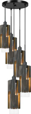 Blakemore Brown 5 Light Chandelier