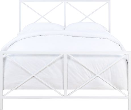 Blanca White Queen Bed