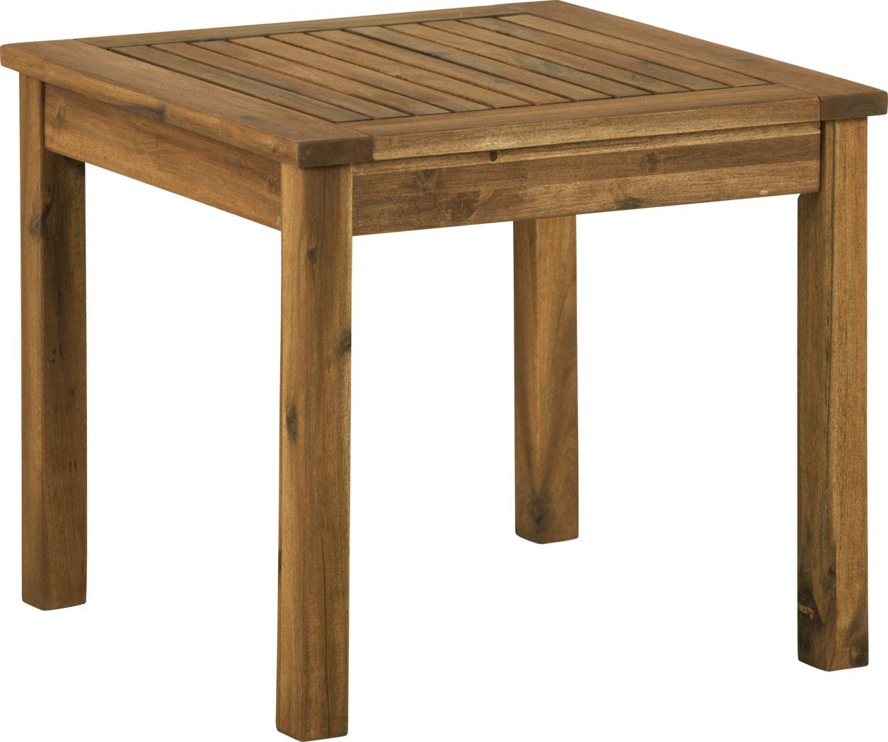 Blandin Brown Outdoor End Table