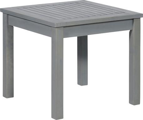 Blandin Gray Outdoor End Table