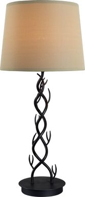 Blounts Creek Brown Outdoor Table  Lamp