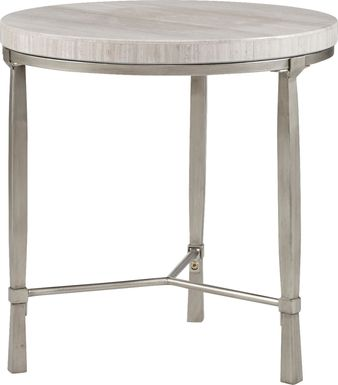 Boddens Silver End Table