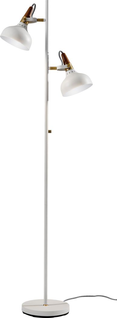 Bonaffon White Floor Lamp