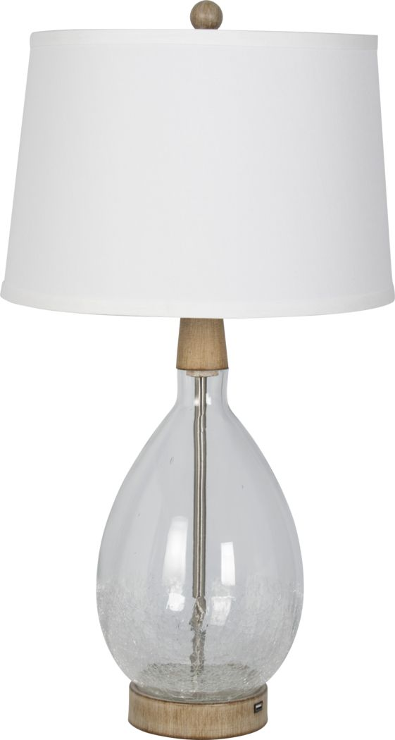 Borrada Bay Clear Lamp, Set of 2