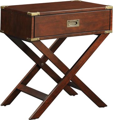 Bowen Brown Accent Table