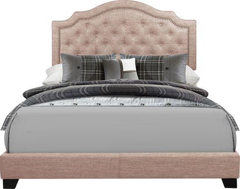 Bowerton Beige Queen Upholstered Bed