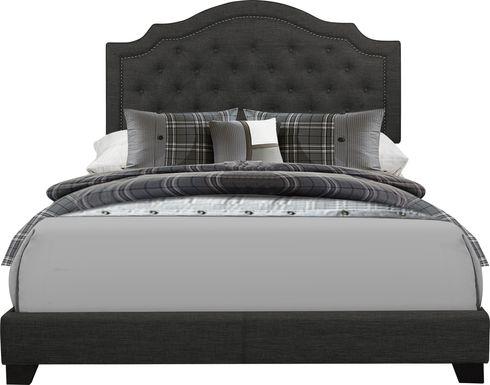 Bowerton Dark Gray Queen Upholstered Bed