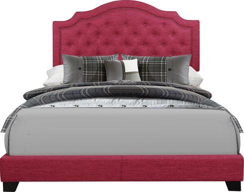 Bowerton Pink Full Upholstered Bed