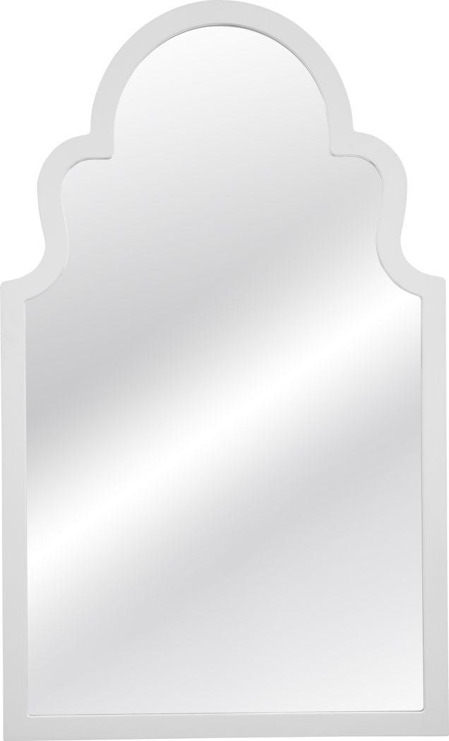 Bowmanville White Mirror
