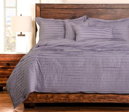 Boyton Nights Purple 6 Pc King Duvet Set