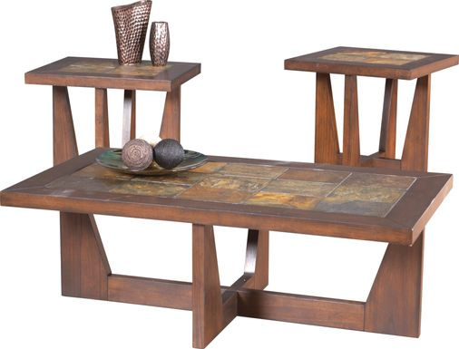 Brad Brown 3 Pc Table Set