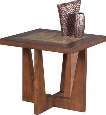 Brad Brown End Table