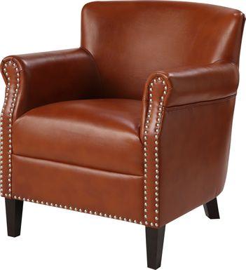 Bradhurst Brown Accent Chair