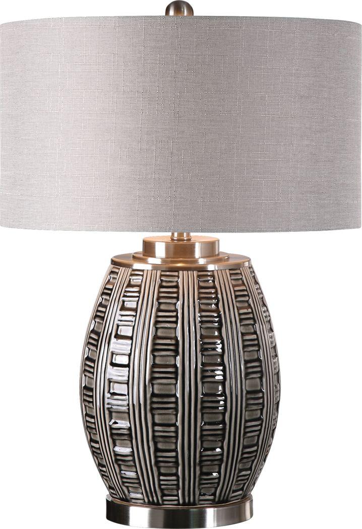 Braeburn Bluff Gray Lamp