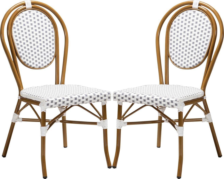 Braganza Gray Dining Chair, Set of 2